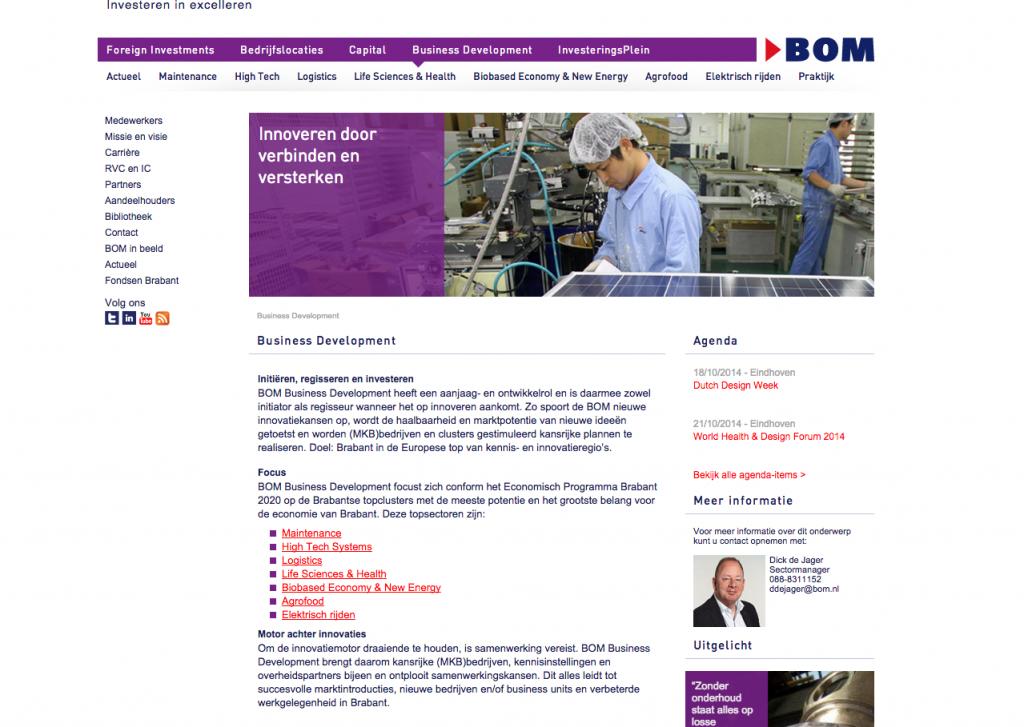 Webteksten BOM Business Development