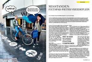 Concepting & art direction shoot artikel 'Misstanden Pieter Vreedeplein' Tillywood Magazine